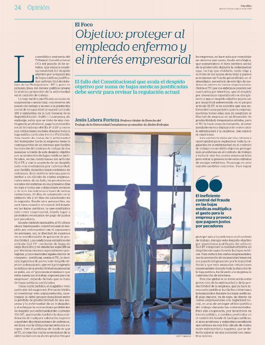 Objetivo: Proteger al Empleado Enfermo y el Interés Empresarial