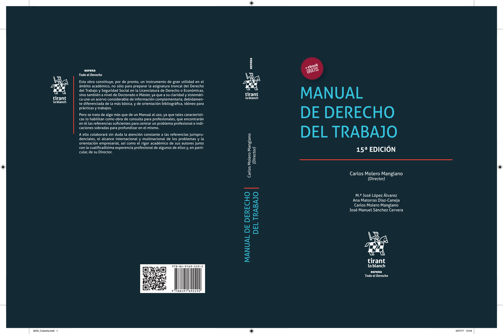 15ª Edición - Manual de Derecho del Trabajo