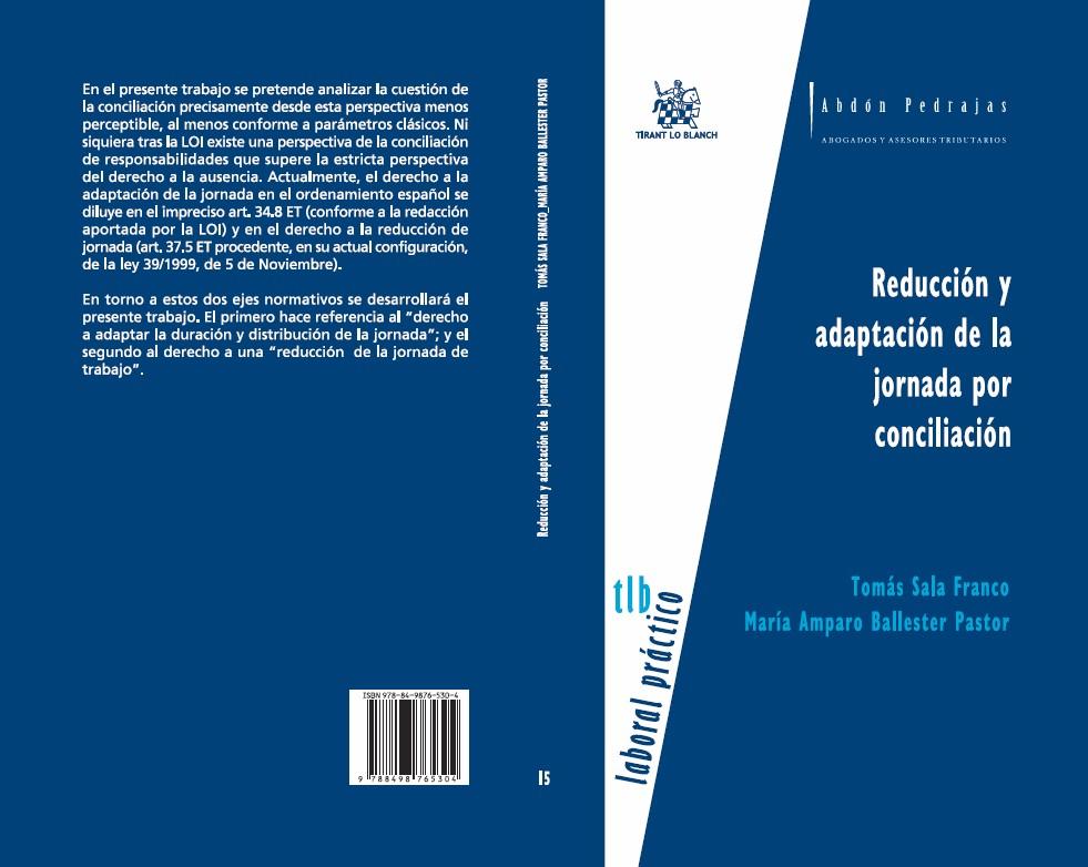 Reducción y adaptación de la jornada por conciliación