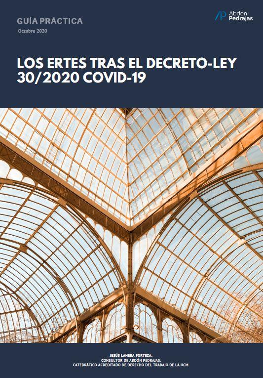 LOS ERTES TRAS EL DECRETO-LEY 30/2020 COVID-19