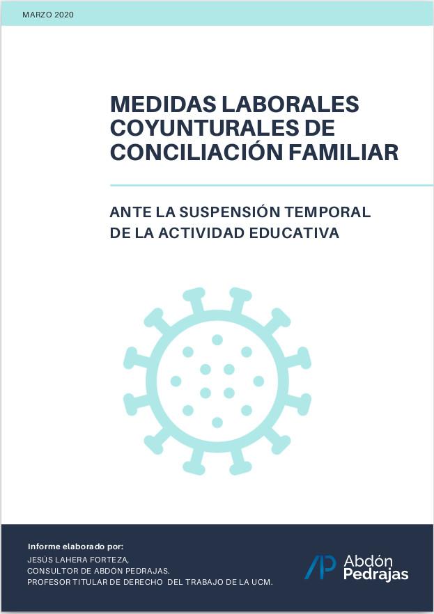 MEDIDAS LABORALES COYUNTURALES DE CONCILIACIÓN FAMILIAR
