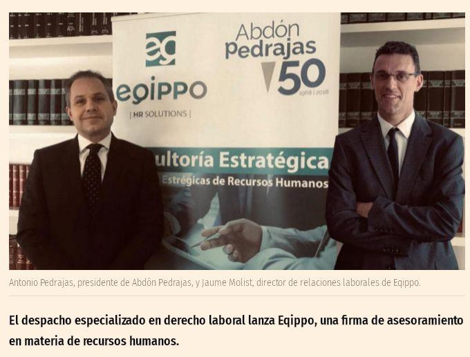 Abdón Pedrajas lanza una consultora de RRHH.