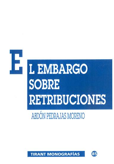El embargo sobre retribuciones