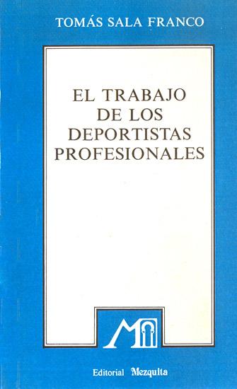 El trabajo de los Deportistas Profesionales