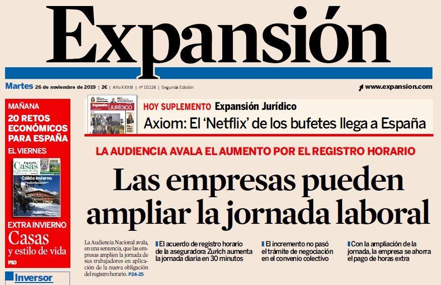 """La Posibilidad de Fijar un """"Factor Corrector"""" en el Registro de Jornada"""