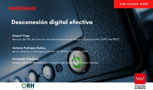 WEBINAR - Protocolo de Desconexión Digital Efectiva